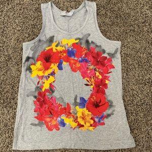 Stella McCartney adidas floral tank